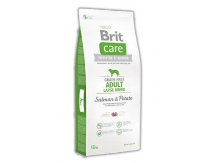 Brit Care Dog Grain-free Adult LB Salmon&Potato