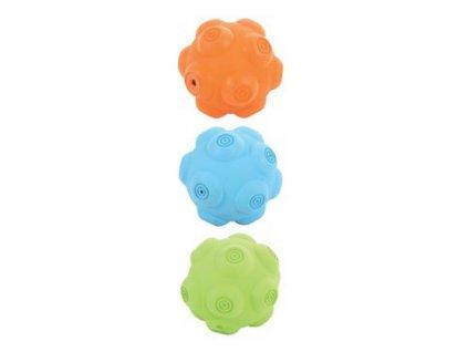 Hračka pes míček gumový ERRATIC mix barev