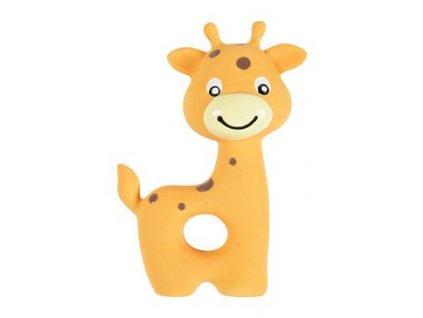 Hračka pes štěně Žirafa latex