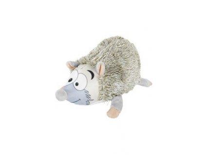 Hračka pes GASTON HEDGEHOG plyš šedá