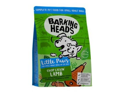 BARKING HEADS Chop Lickin' Lamb (Small Breed)