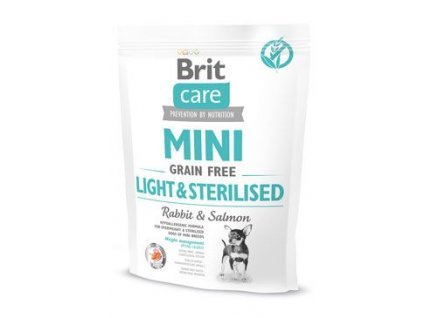 Brit Care Dog Mini Grain Free Light & Sterilised