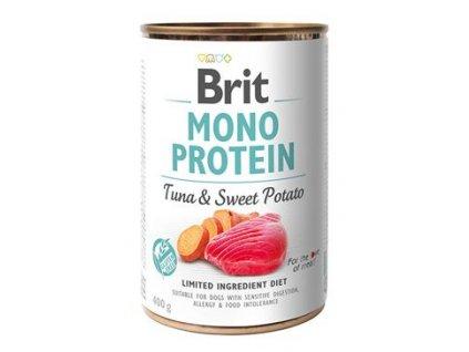 Brit Mono Protein konzerva Tuna & Sweet Potato 400 g