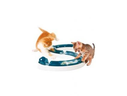 Hračka kočka Koulodráha