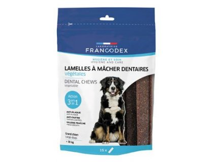 Francodex Weggy žvýkací plátky pro psa 15ks