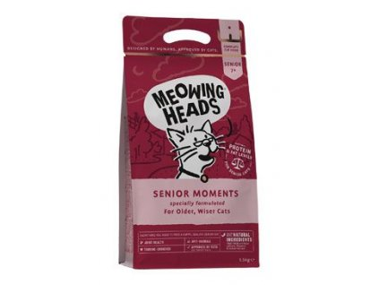 MEOWING HEADS Senior Moments NEW