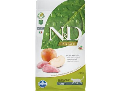 N&D PRIME CAT Adult Boar & Apple