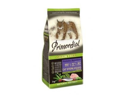 Primordial GF Cat Sterilizzato Turkey Herring