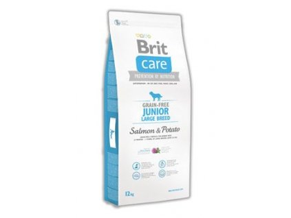 Brit Care Dog Grain-free Junior LB Salmon & Potato