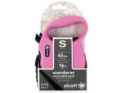 Alcott navíjecí v. Wand(do 20,4kg)růžové S 4,8m