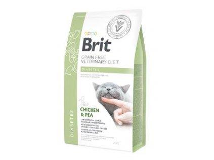 Brit VD Cat GF Diabetes 2kg
