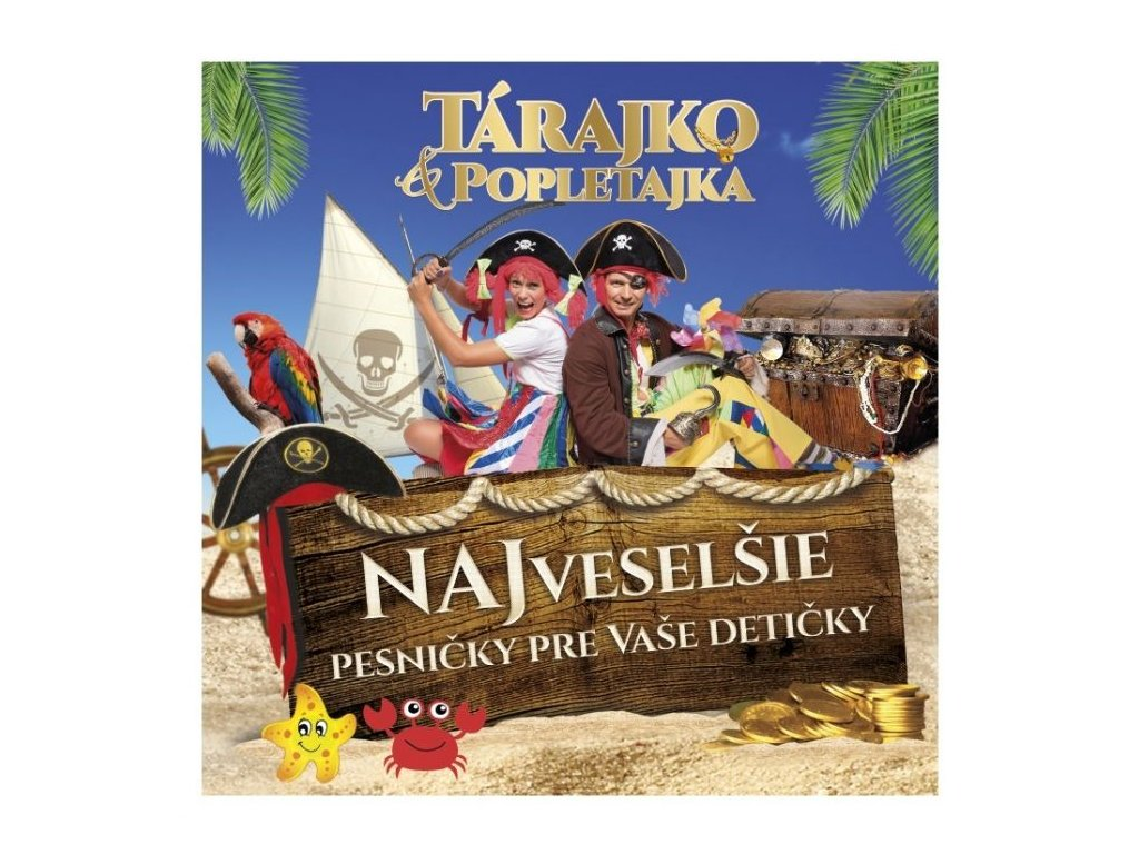 CD Najveselšie pesničky pre Vaše detičky 1