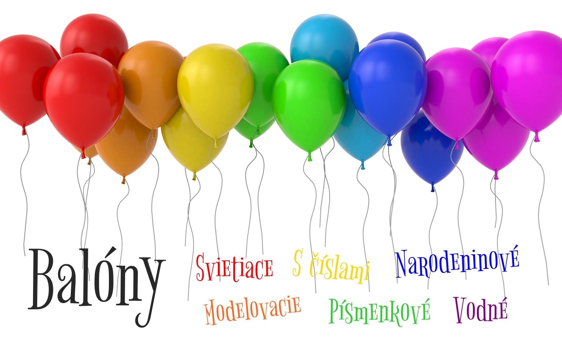 Balóny na party