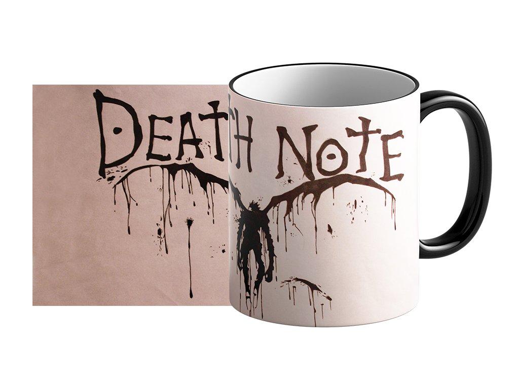 hrnek Death Note umístění na eshop