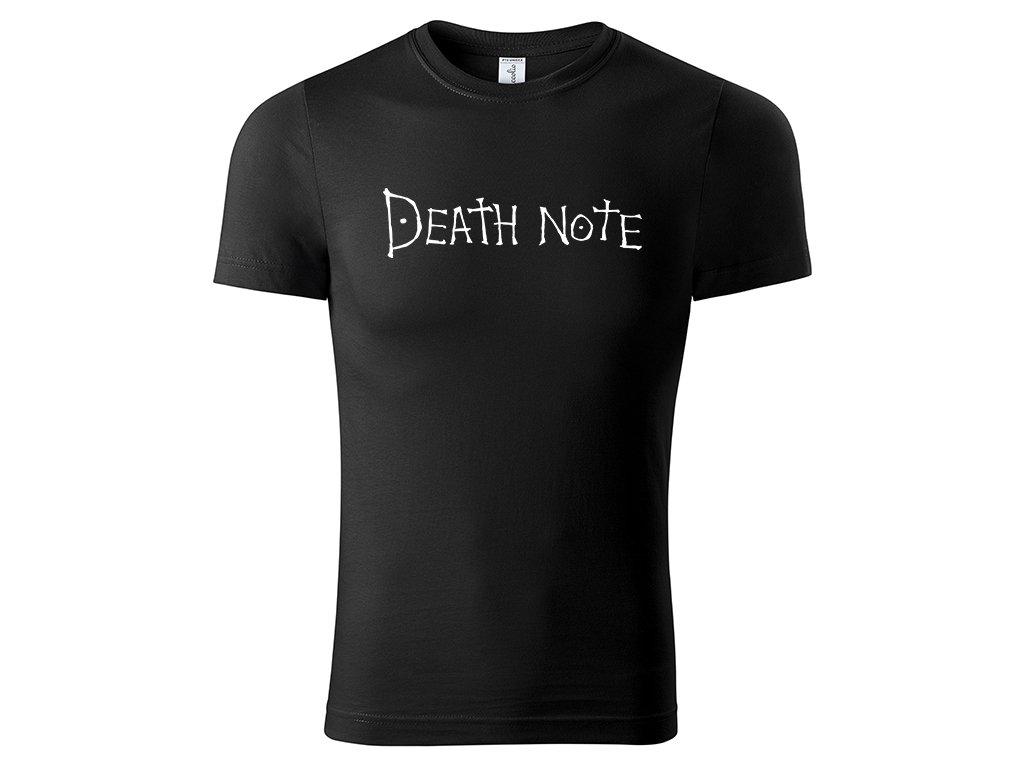 Tričko logo Death Note černé