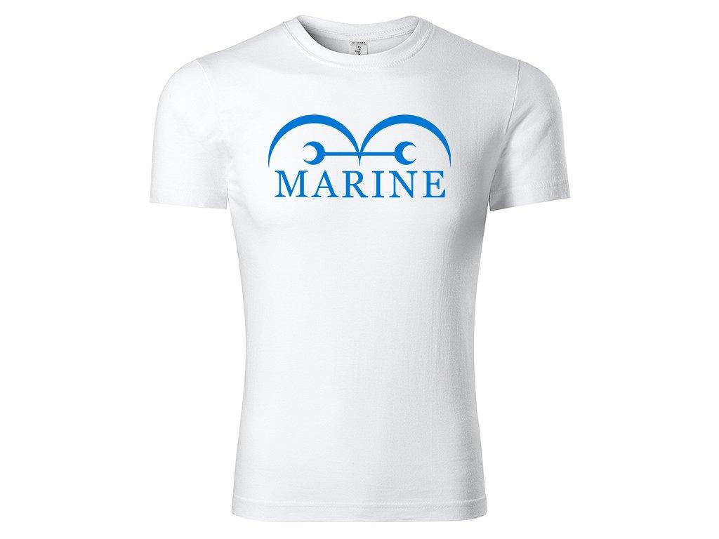 Tričko Marine bílé