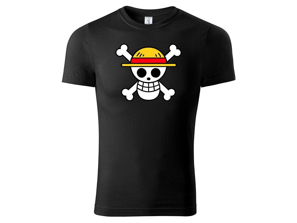 Tričko Mugiwara černé