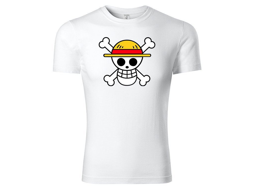 Tričko Mugiwara bílé