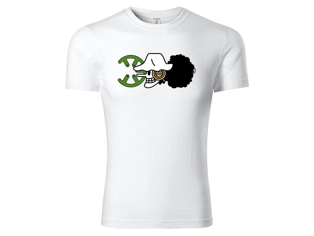Tričko Usopp bílé