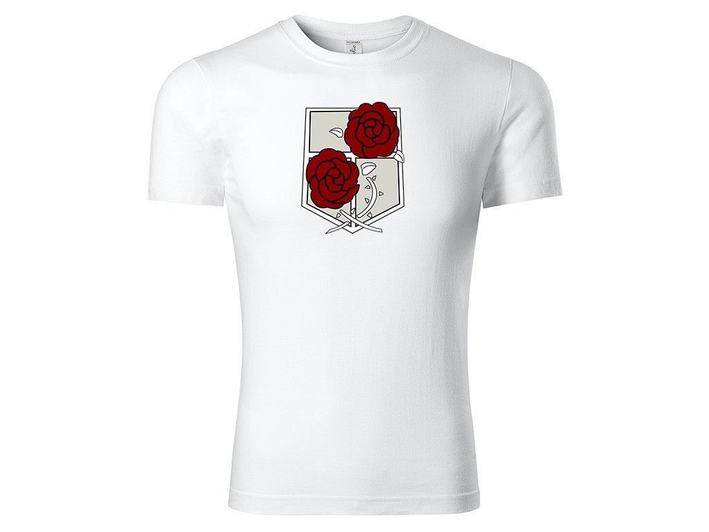 Tričko Garrison bílé