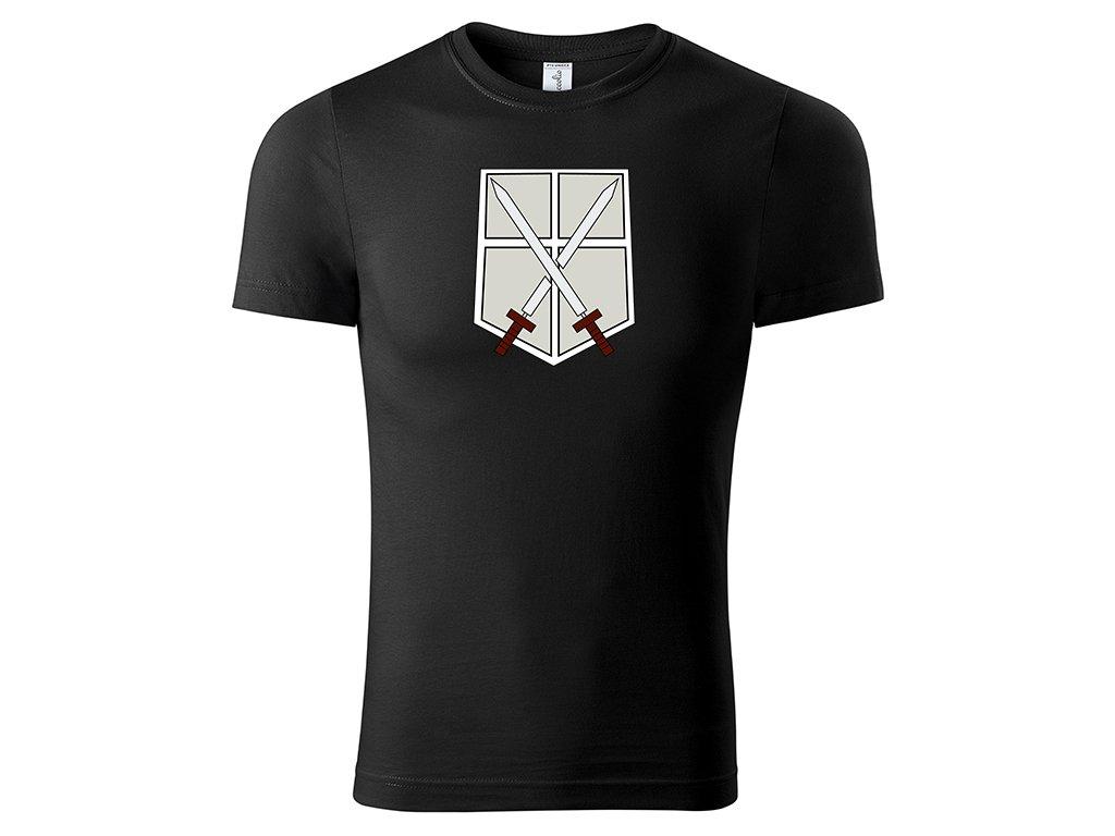 Tričko Training Corps černé