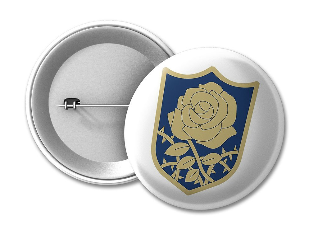 BUTTON Blue Rose na web