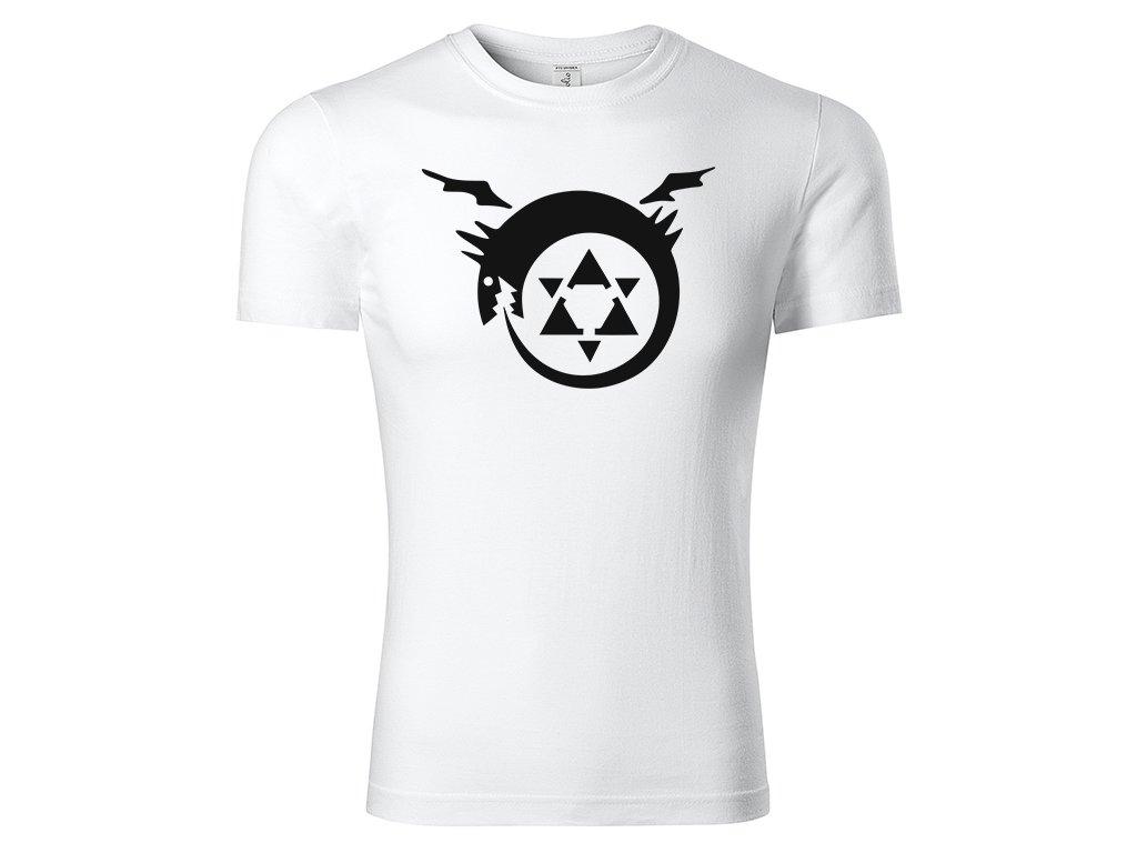 Tričko Homunculus Emblem bílé