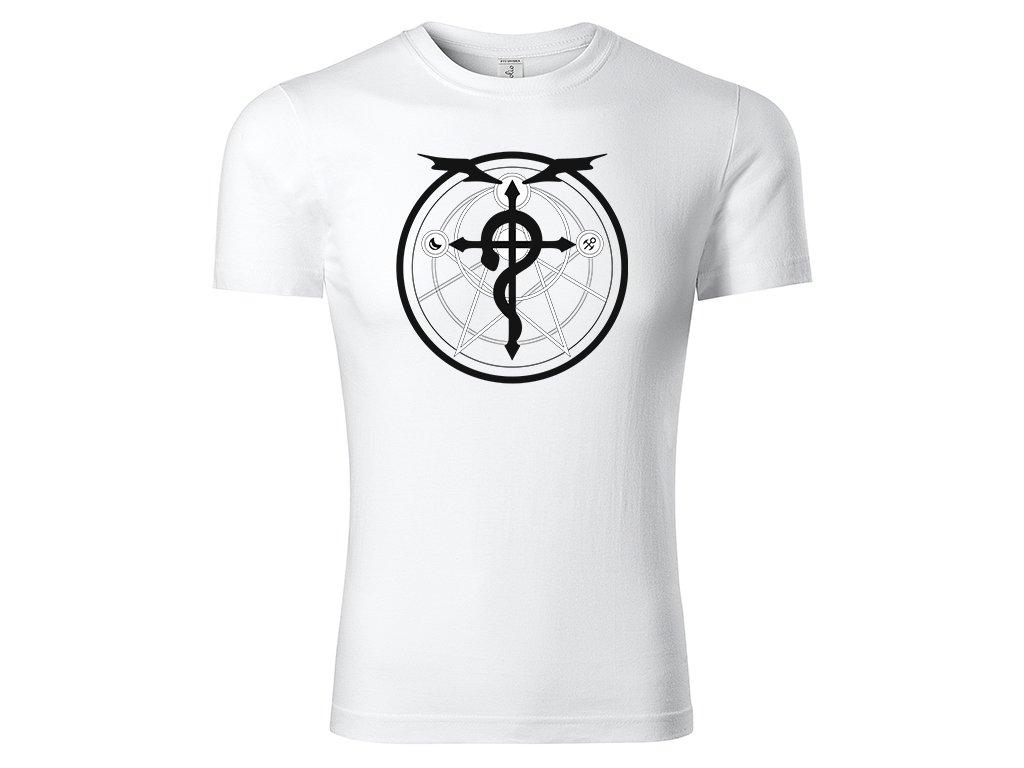 Tričko Transmutation Circle bílé