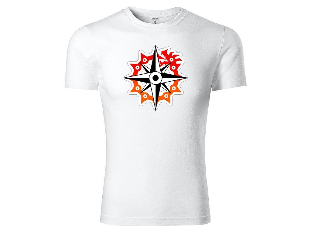 Tričko logo Nanatsu no Taizai bílé