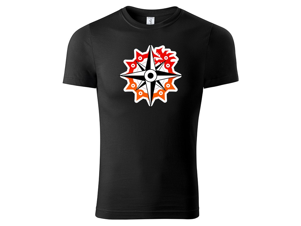 Tričko logo Nanatsu no Taizai černé