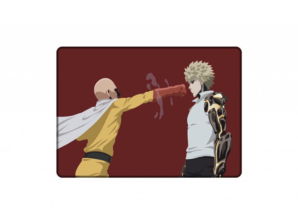 PODLOŽKA Saitama and Genos Training A3 mock up