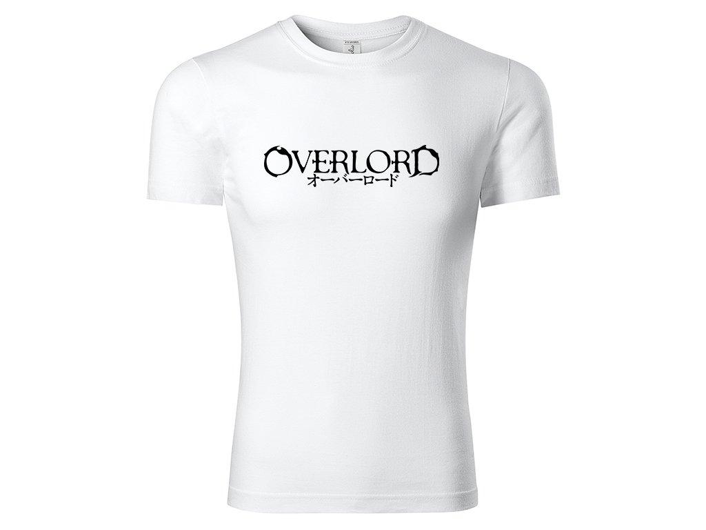 Tričko Overlord bílé