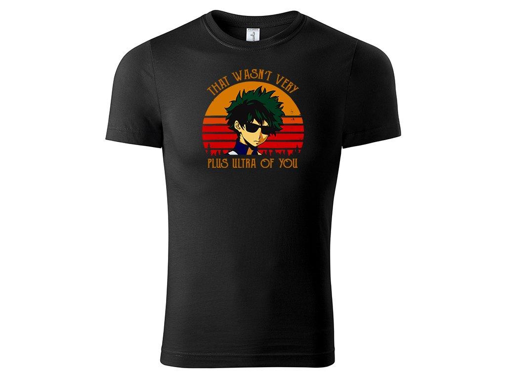 Tričko Plus Ultra černé