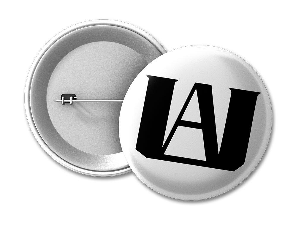 placka logo UA 50 umístění na eshop