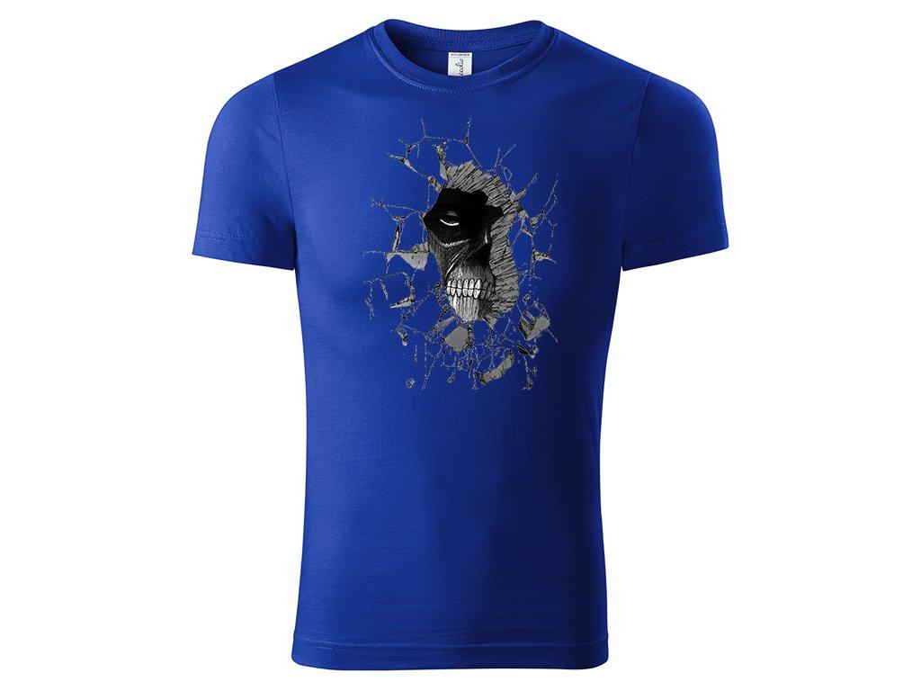 Tričko Colossal Titan modré