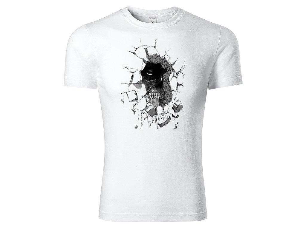 Tričko Colossal Titan bílé