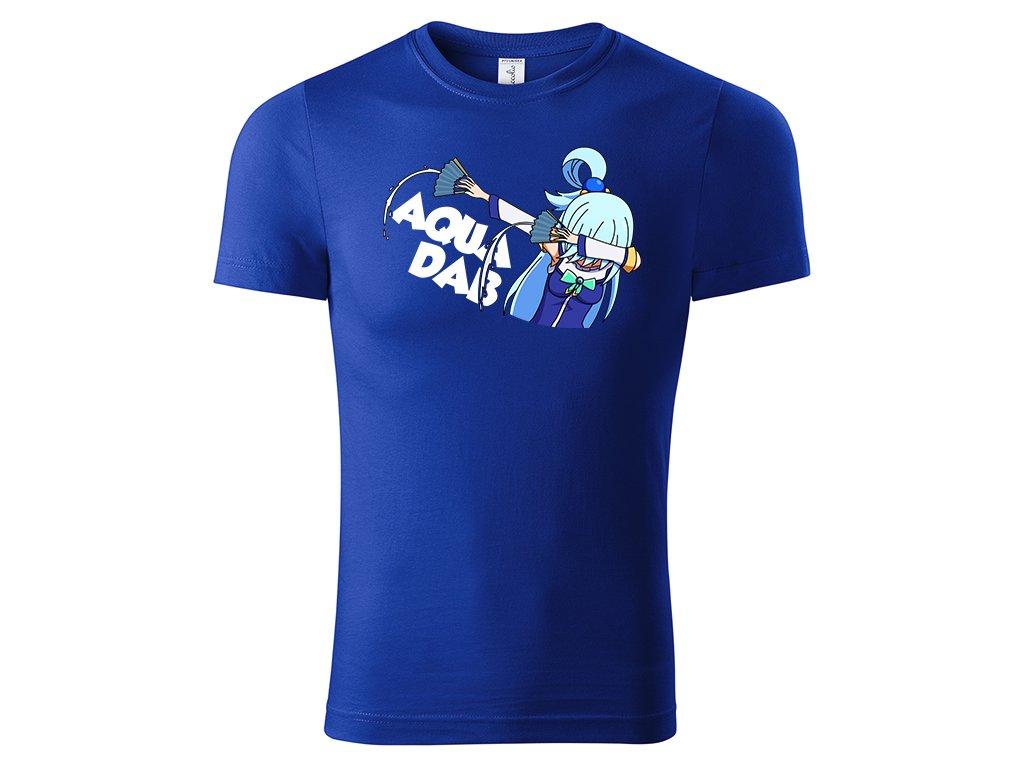 Tričko AquaDab modré