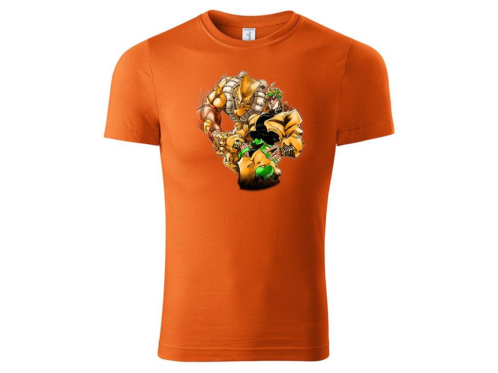 Tričko Dio Brando oranžové