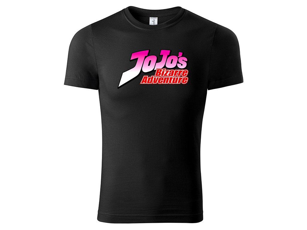 Tričko logo JoJo's černé