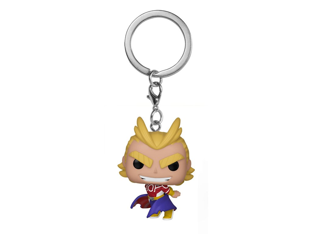 Klíčenka Funko Pocket Pop! All Might (Silver Age)