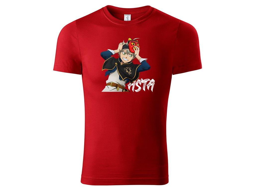Tričko Asta červené