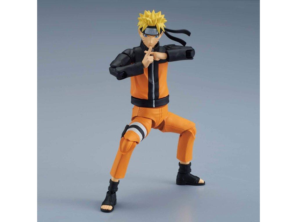 Plastic Model Kit figurka Naruto Uzumaki - 12 cm