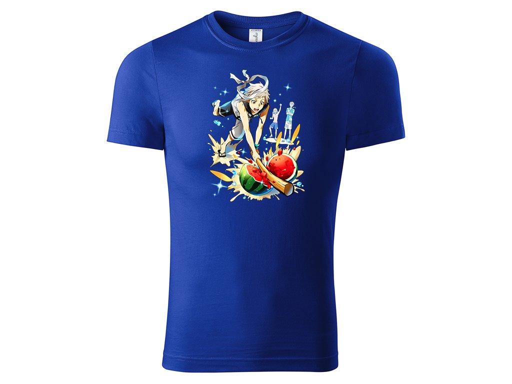 Tričko Atsushi vs. Melone - modré