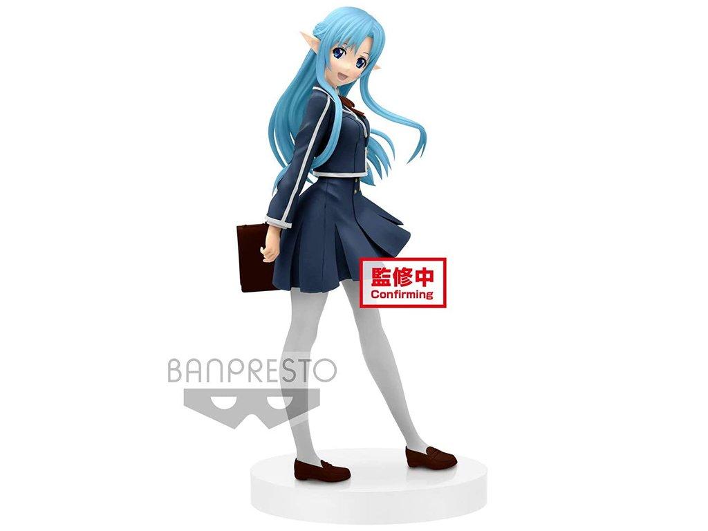 Banpresto Figurka Asuna School Uniform