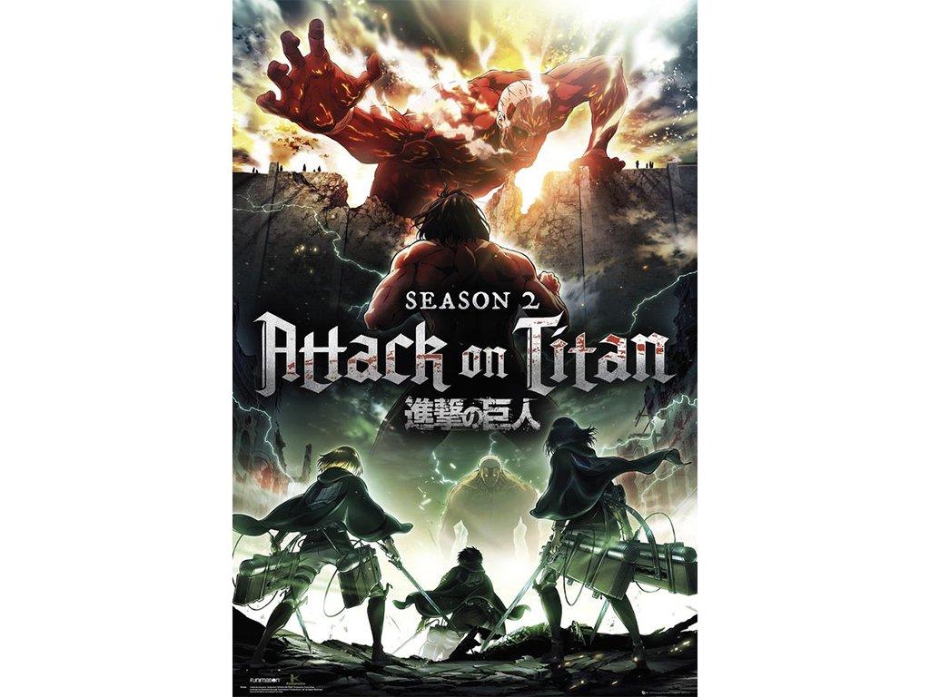 Plakát Attack on Titan
