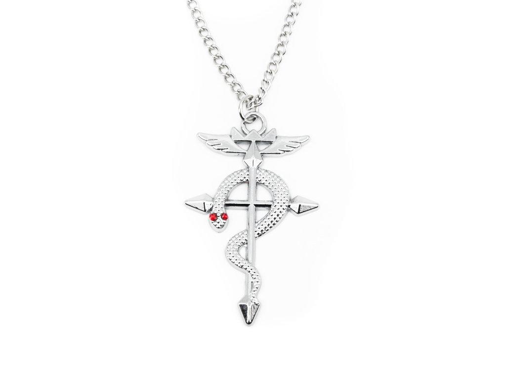 Řetízkový náhrdelník Flamel