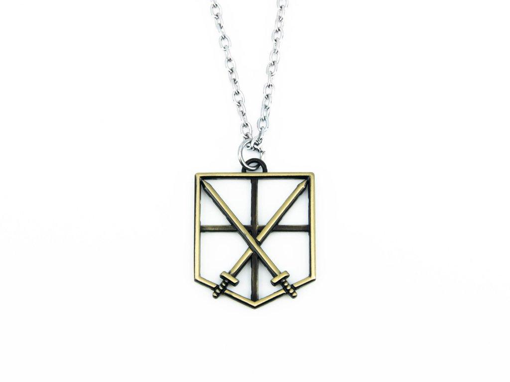 Řetízkový náhrdelník Training Corps (bronze)