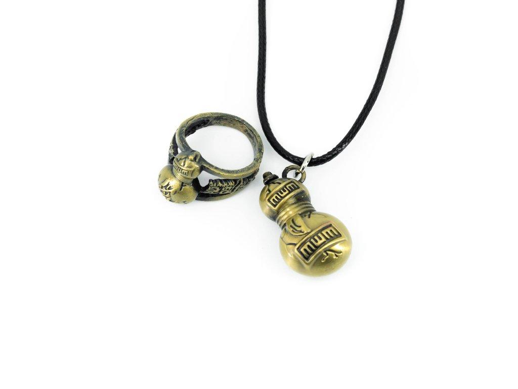 Set prstenu a náhrdelníku Gaara