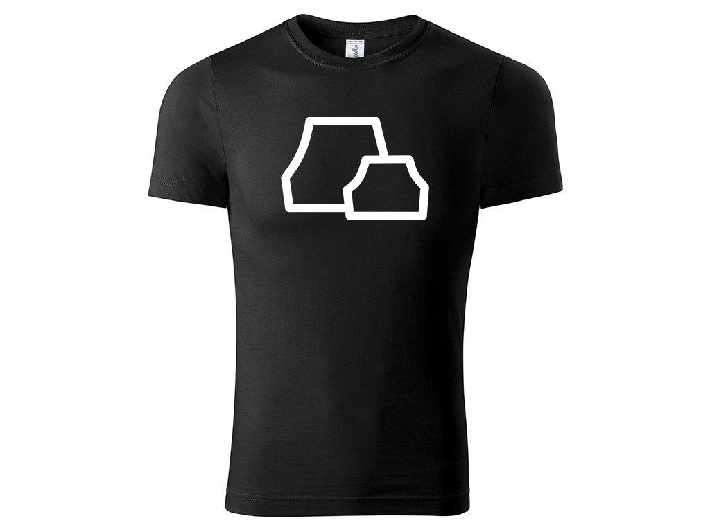 Tričko Iwagakure černé