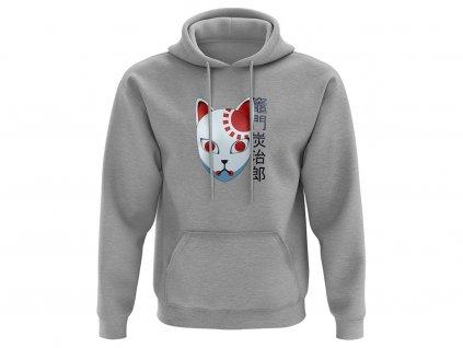 fox mask mikina na web